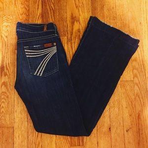 """7 Jeans """"Dojo"""" Flares"""